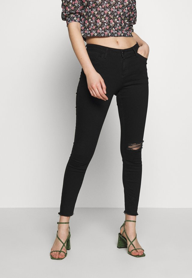 NIBBLE DARCY - Jeans Skinny Fit - black/authentic wash