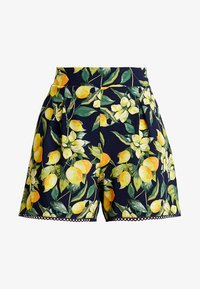 Dorothy Perkins - LEMON POM POM  - Shorts - dark blue - 3