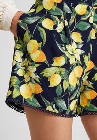 Dorothy Perkins - LEMON POM POM  - Shorts - dark blue - 4