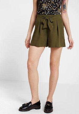 TIE UP - Short - khaki