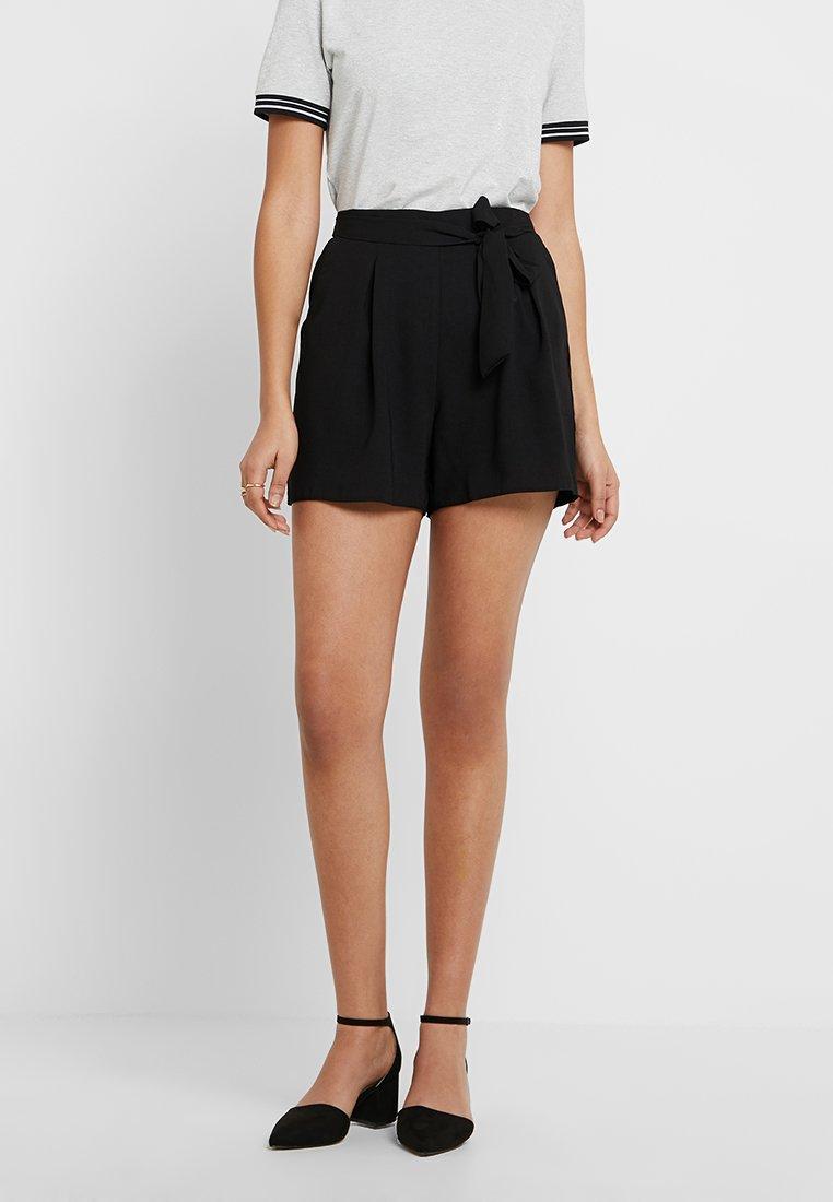 Dorothy Perkins - TIE UP - Shorts - black