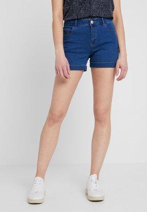 ENTRY - Jeans Short / cowboy shorts - midwash