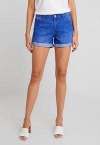 Dorothy Perkins - BOY - Denim shorts - bright blue - 0