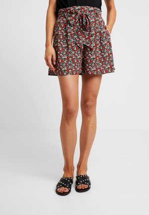 DITSY TIE WAIST - Shorts - multicolour