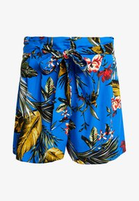 Dorothy Perkins - TROPICAL  - Shorts - blue - 4