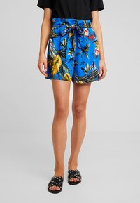 Dorothy Perkins - TROPICAL  - Shorts - blue - 0