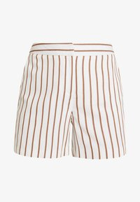 Dorothy Perkins - STRIPE - Shorts - taupe/beige - 4