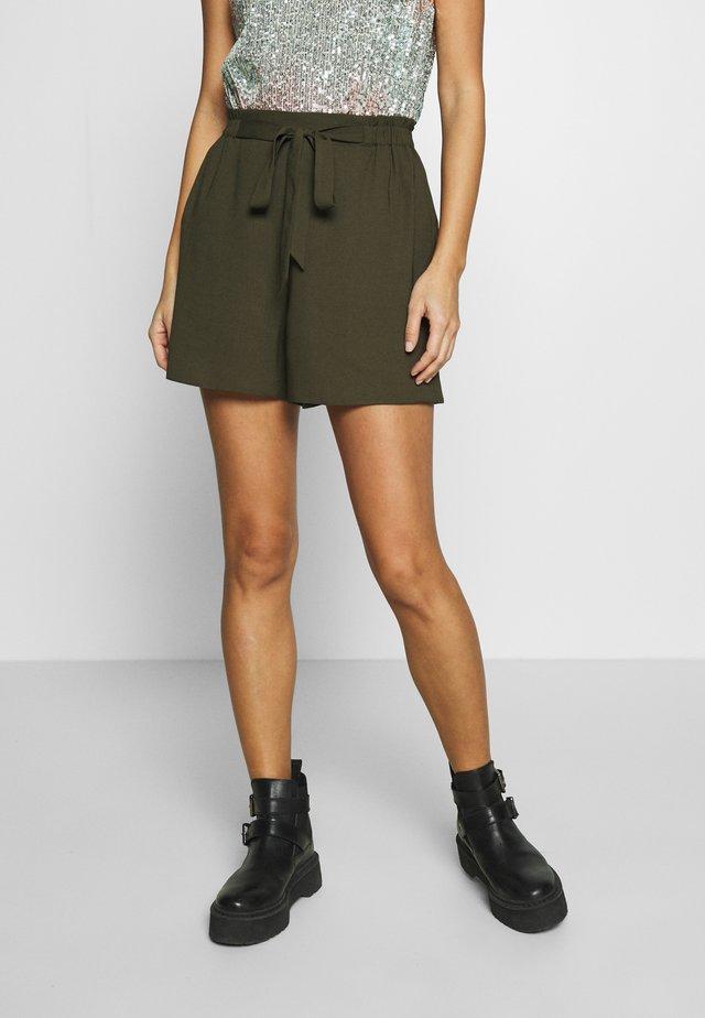 PAPERBAG SHORT - Shorts - khaki