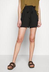 Dorothy Perkins - PAPERBAG - Shorts - black - 0