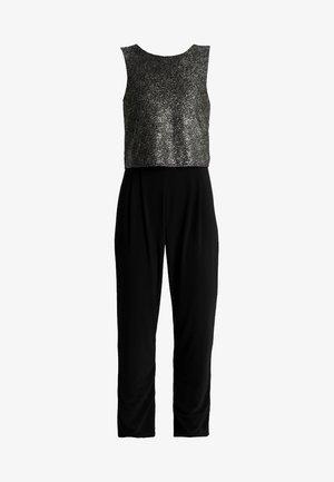 DOUBLE LAYER - Jumpsuit - black