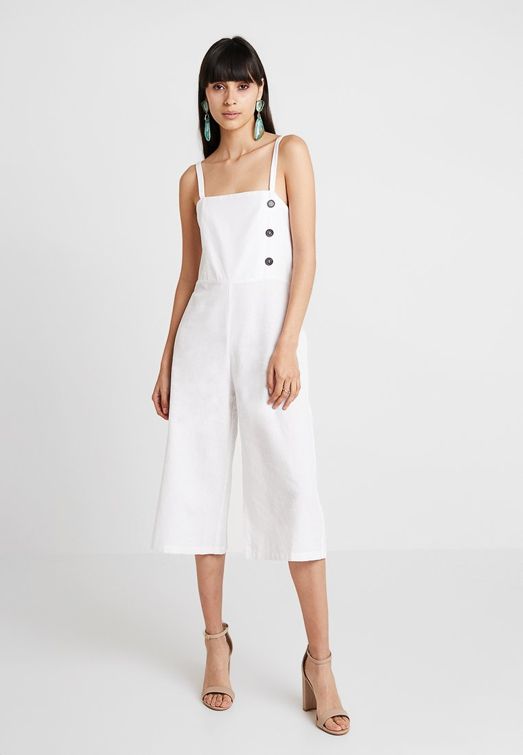 Dorothy Perkins - IVORY LINEN - Overal - ivory