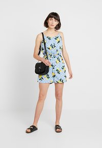 Dorothy Perkins - PRINT PLAYSUIT - Mono - multicolor - 1