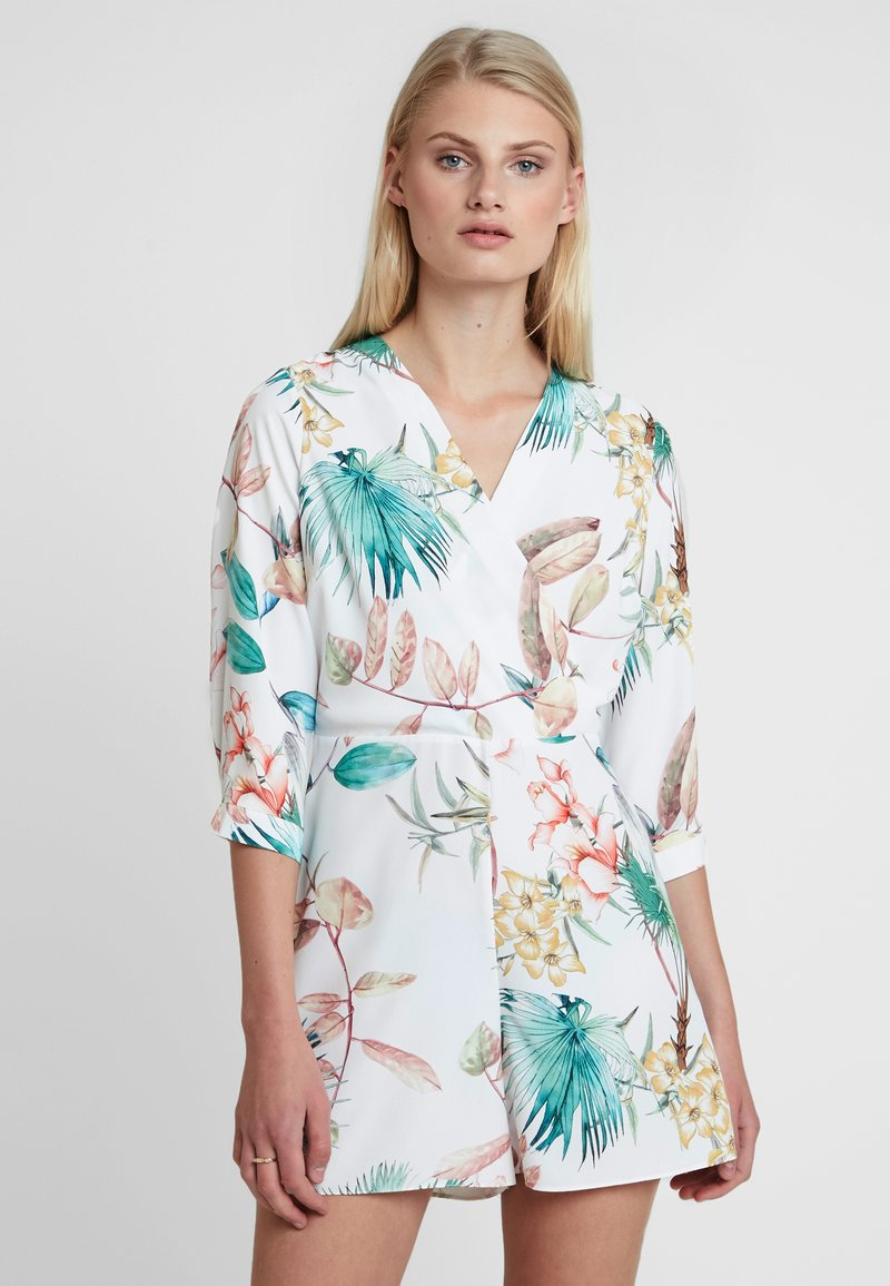 Dorothy Perkins - TROPICAL - Jumpsuit - ivory