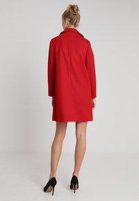 Dorothy Perkins - POPPER SWING - Short coat - red - 2