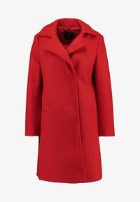 Dorothy Perkins - POPPER SWING - Short coat - red - 4