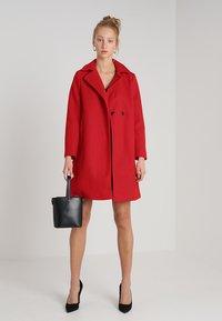 Dorothy Perkins - POPPER SWING - Short coat - red - 1