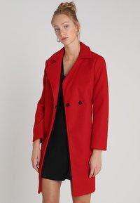 Dorothy Perkins - POPPER SWING - Short coat - red - 0