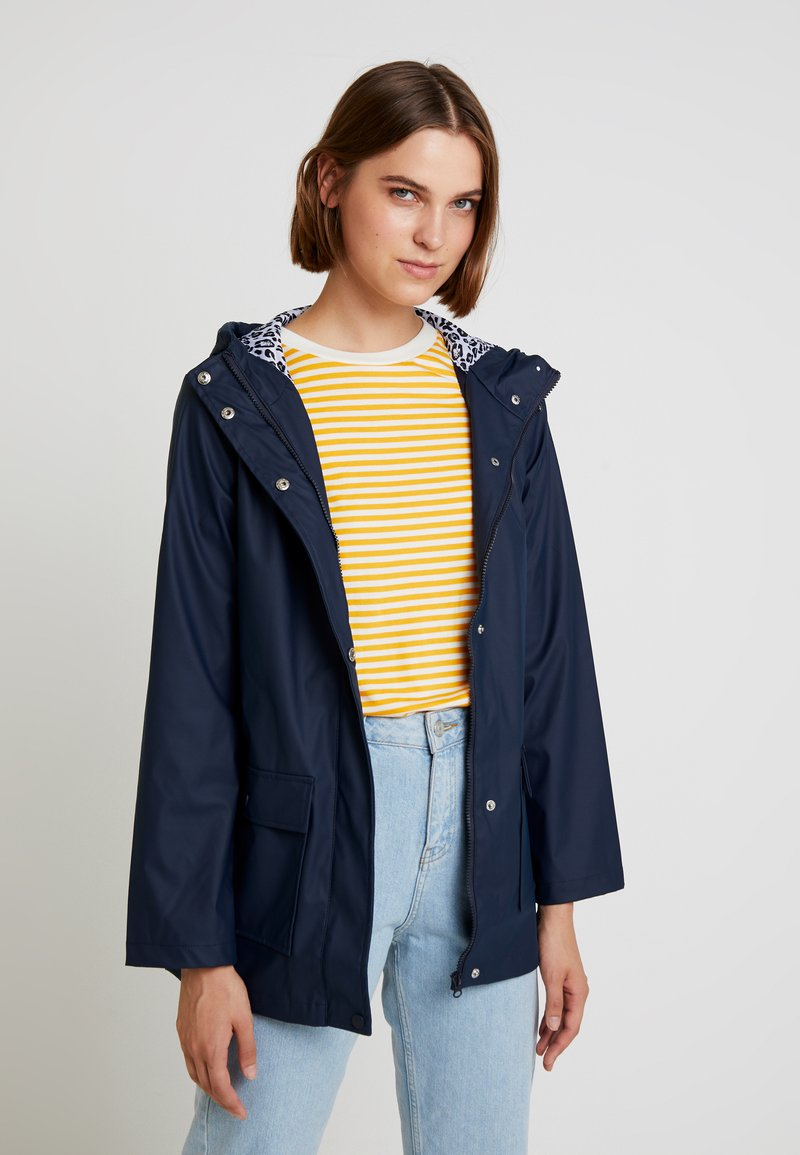 Dorothy Perkins - RAINCOAT - Parkatakki - navy