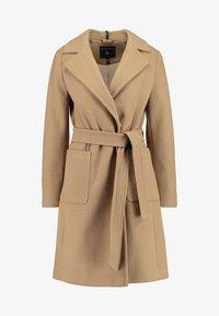 Dorothy Perkins - PATCH POCKET WRAP - Classic coat - camel - 4