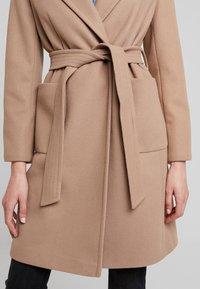 Dorothy Perkins - PATCH POCKET WRAP - Classic coat - camel - 5