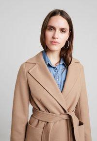 Dorothy Perkins - PATCH POCKET WRAP - Classic coat - camel - 3