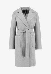 Dorothy Perkins - PATCH POCKET WRAP - Cappotto classico - grey - 4