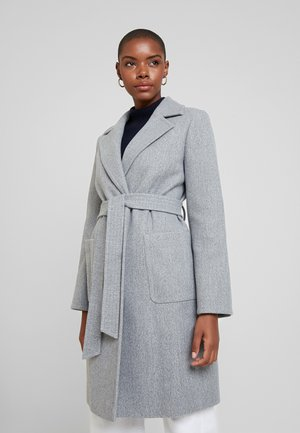 PATCH POCKET WRAP - Zimní kabát - grey
