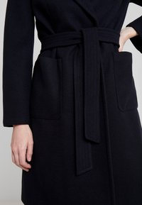 Dorothy Perkins - PATCH POCKET WRAP - Cappotto classico - navy blue - 5
