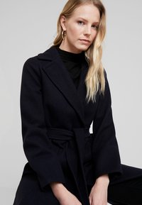 Dorothy Perkins - PATCH POCKET WRAP - Cappotto classico - navy blue - 3