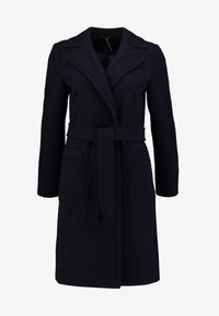 Dorothy Perkins - PATCH POCKET WRAP - Cappotto classico - navy blue - 4