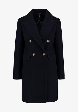 DOUBLE - Manteau classique - navy blue