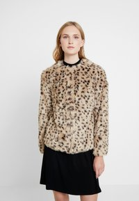Dorothy Perkins - ANIMAL EDGE TO EDGE - Vinterjacka - beige - 0