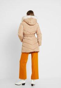 Dorothy Perkins - LONG LUXE - Zimní kabát - camel - 2