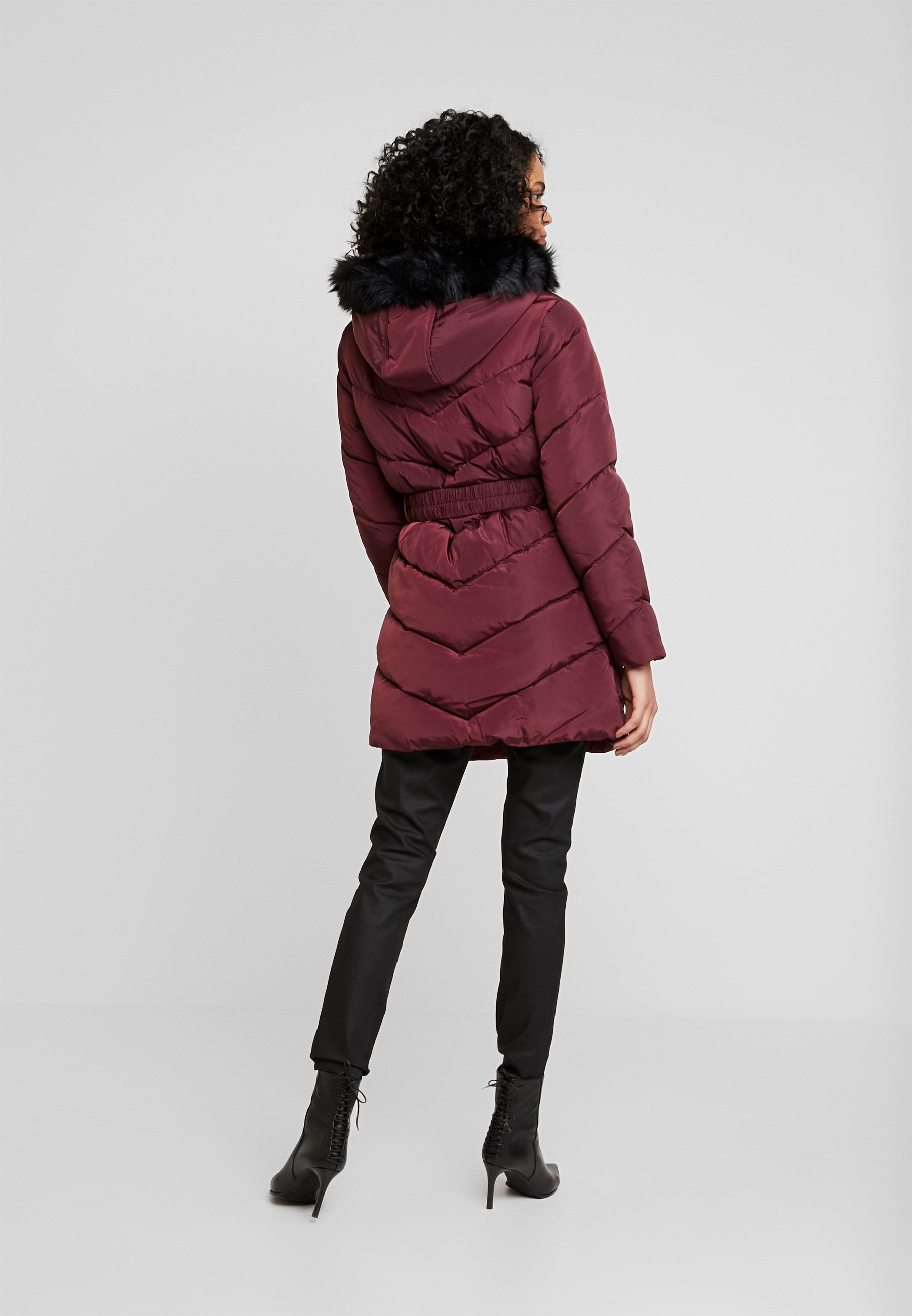 Burgundy Perkins Dorothy Long LuxeCappotto Invernale 6YI7byvfg