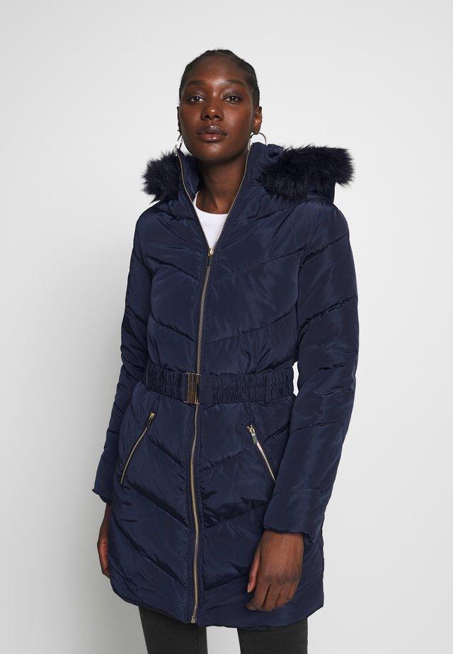 LONG LUXE - Winter coat - navy