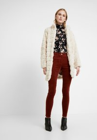 Dorothy Perkins - LONG - Cappotto invernale - cream - 1