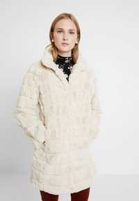 Dorothy Perkins - LONG - Cappotto invernale - cream - 0