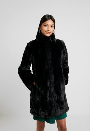 LONG - Winter coat - black