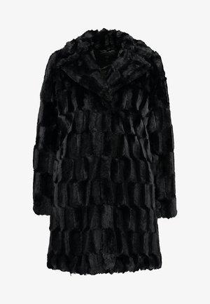 LONG LINE SQUIGGLE  - Winterjas - black