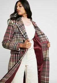 Dorothy Perkins - MIDI DOUBLE BREASTED - Classic coat - multi-coloured - 3