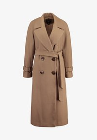 Dorothy Perkins - DOUBLE BREASTED BELTED WRAP - Trenchcoat - mushroom - 4