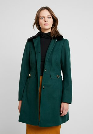 COLLAR DOLLY - Short coat - forest green