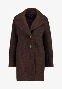 Dorothy Perkins - ONE BUTTON COAT - Classic coat - fudge - 4