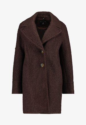 ONE BUTTON COAT - Kåpe / frakk - fudge