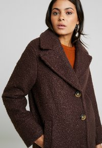 Dorothy Perkins - ONE BUTTON COAT - Classic coat - fudge - 3
