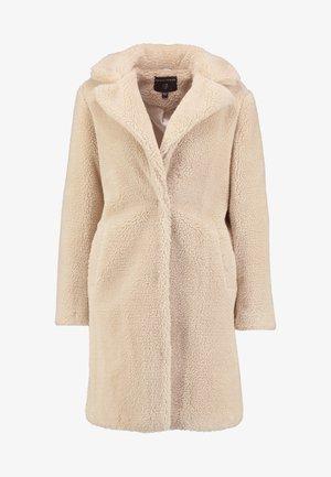 BELTED COAT - Krátký kabát - cream