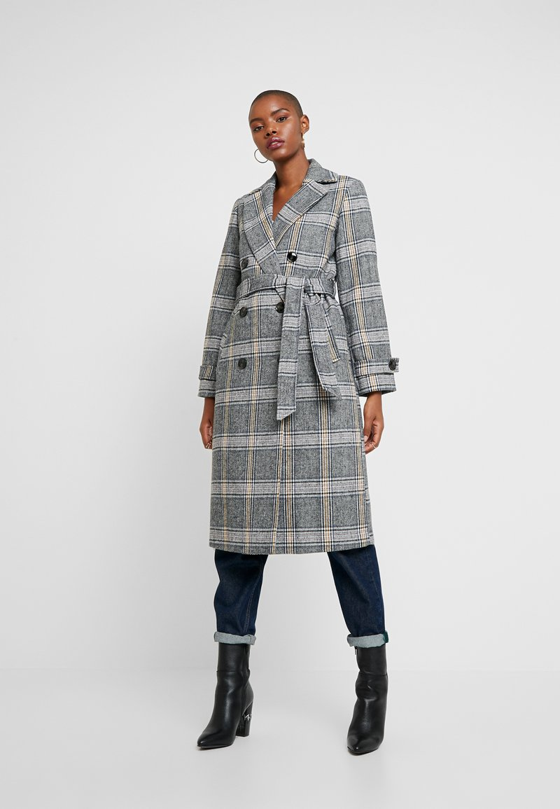 Dorothy Perkins - CHECK WRAP - Trenchcoat - multi bright
