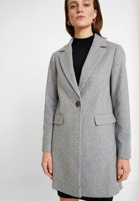 Dorothy Perkins - MINIMAL LINED - Classic coat - grey - 4
