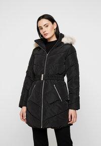 Dorothy Perkins - LONG LUXE PADDED JACKET - Winter coat - black - 0