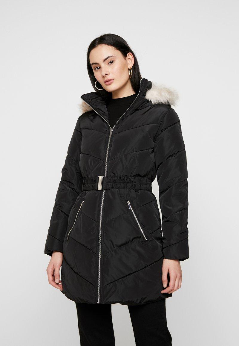 Dorothy Perkins - LONG LUXE PADDED JACKET - Winter coat - black